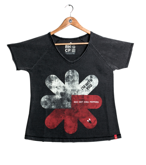 Camiseta VSR Red Hot Chili Peppers I'm With You - Feminino Comfort