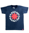 Camiseta VSR Red Hot Chili Peppers Logo - Infantil Azul