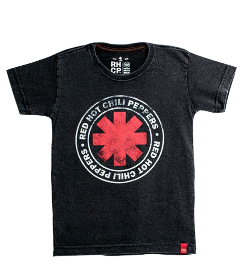Camiseta VSR Red Hot Chili Peppers Logo Seal - Infantil