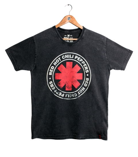 Camiseta VSR Red Hot Chili Peppers Logo Seal
