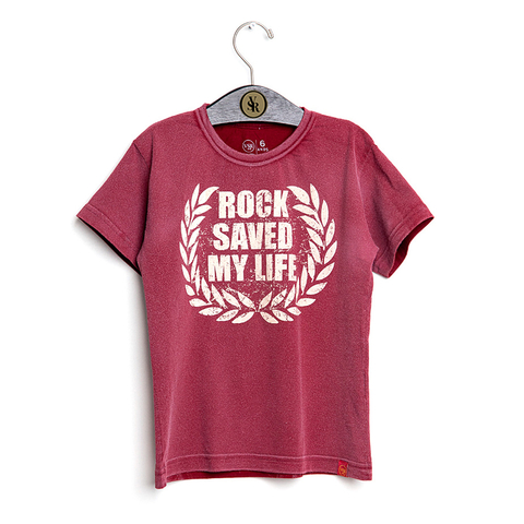 Camiseta VSR Rock Saved My Life - Infantil