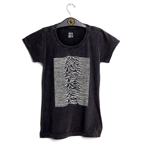 Camiseta VSR Unknown Pleasures - Feminino Slim