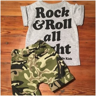 Remera Rock & Roll All Night Baby