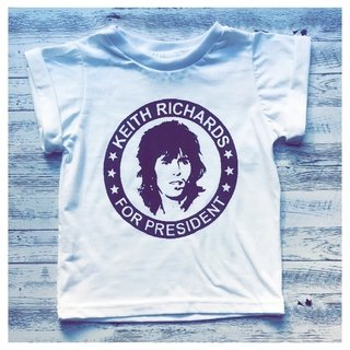 Remera Keith Richards