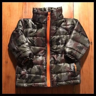 Campera Army Orange