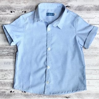 Camisa Light Blue