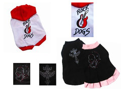 Musculosa  ROCKS DOGS   -  Remera y Vestido BRILLOS