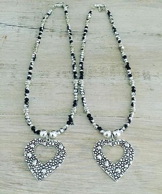 Collar Heart Glam