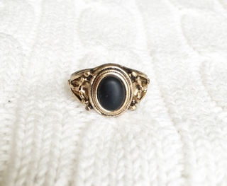 Anillo Black Gold