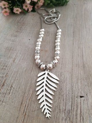 Collar Feather Long