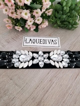 Choker Glam Black