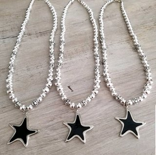 Collar Black Star