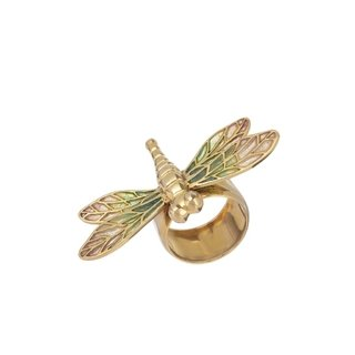Gold Dragonfly Ring - buy online