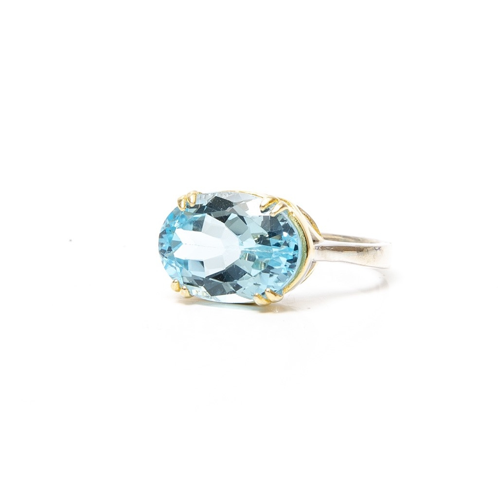 Light Blue Topaz Ring
