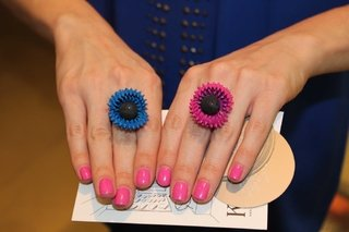 Fucsia Carnivore Ring - buy online