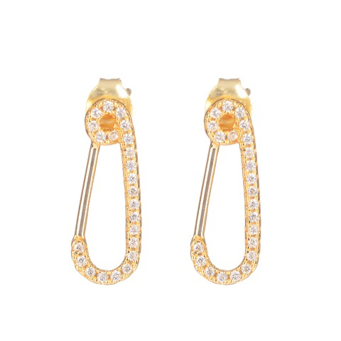 Gold Plated Hook Earrings