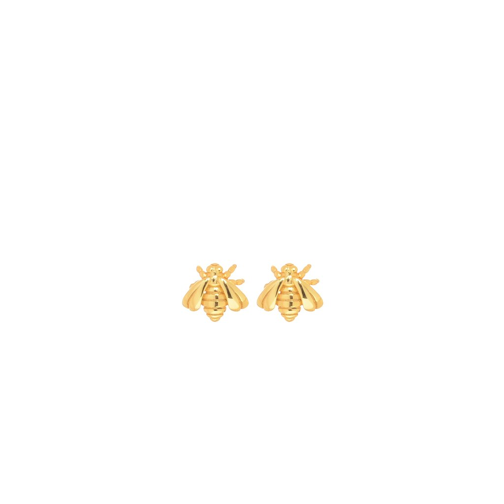 Golden Bees Earrings