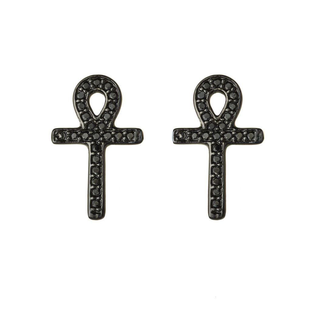 Egyptian Cross Earrings