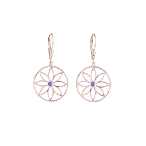 Aros Mandala Petit Red Rose
