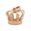 18 Kt Yellow Gold Crown Pendant