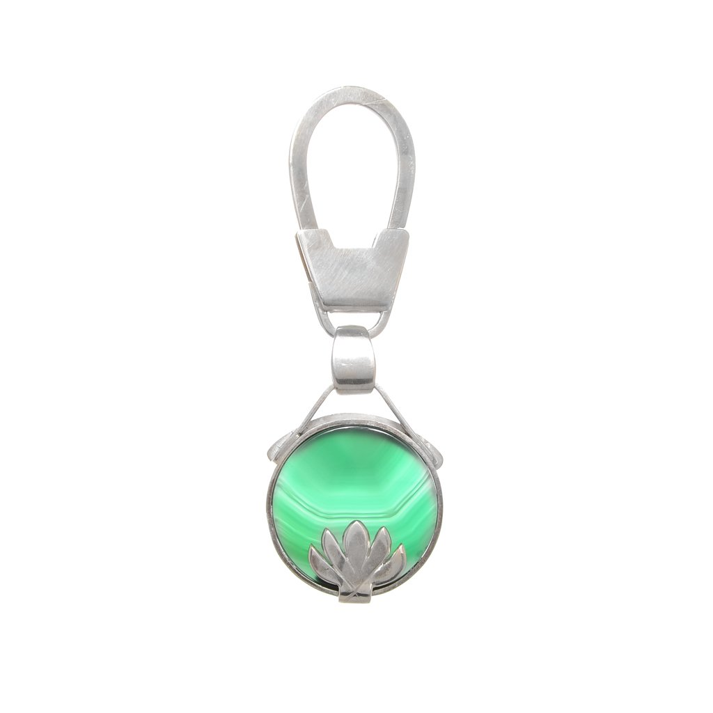 Lotus Flower Key Chain