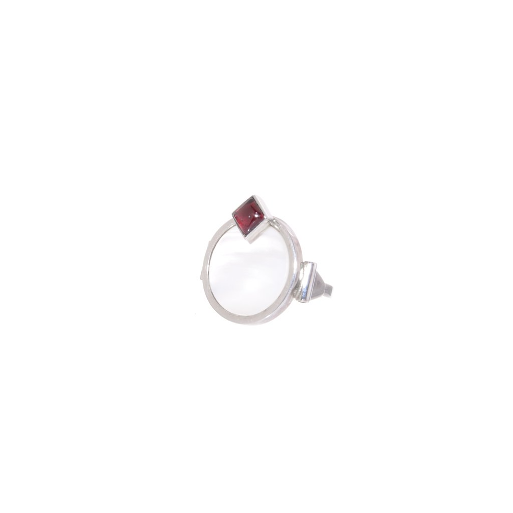 Garnet Art Deco Ring - buy online