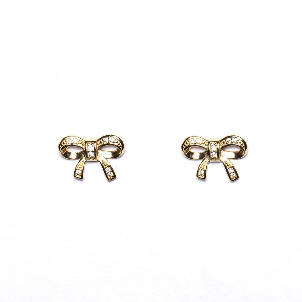 Golden Bun Earrings