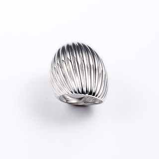 Sterling Silver Lined Ring