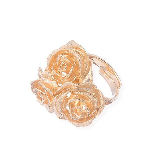 Rose Trio ring
