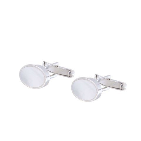 Mother of Pearl Deco Cufflinks