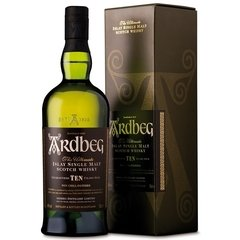 Ardbeg Single Islay Malt Scotch Whisky Estuche 1x750 - comprar online