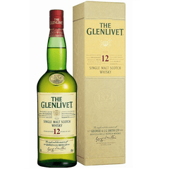 The Glenlivet 12 YO Single Malt Estuche 1x700