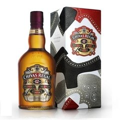 Chivas Regal 12 YO Gift Tin By Tim Little Estuche 1x750