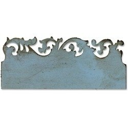 Tim Holtz Sizzix Die SCROLLWORK On The Edge Alterations 656624 - comprar online