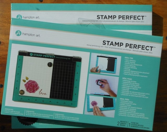 Stamp perfect de hampton art