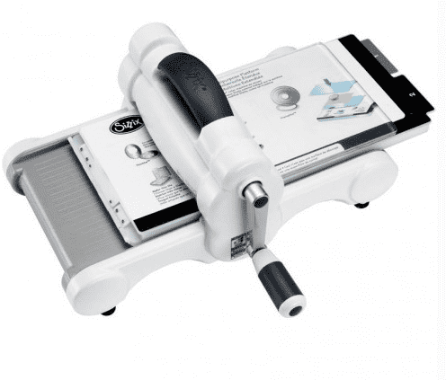 #PORENCARGO BIG SHOT DE SIZZIX WHITE & GRAY en internet