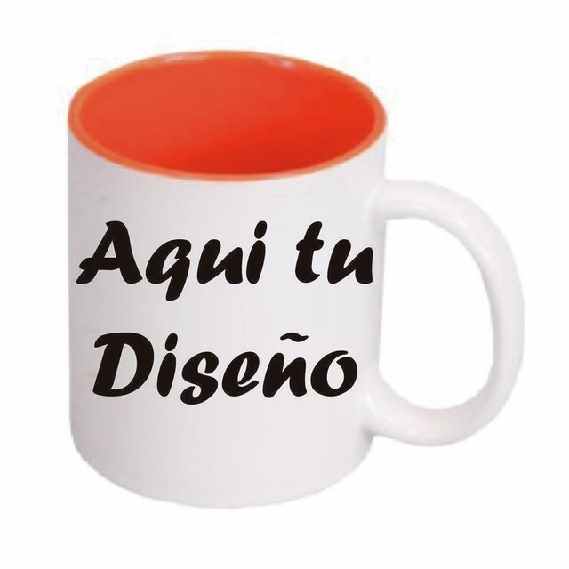 Mug color interno en internet