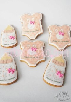 Galletas personalizadas formas especiales - baby shower