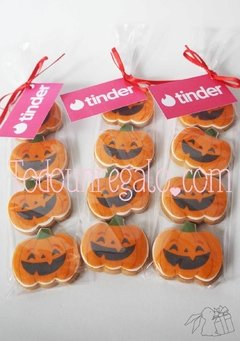 Galletas personalizadas halloween en internet