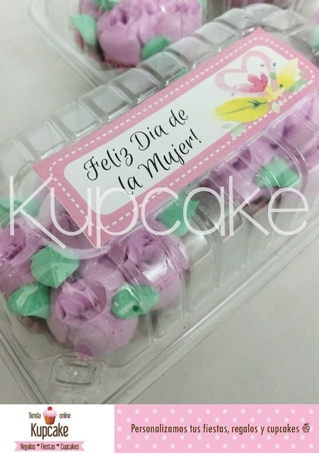 Cupcakes x 2 unidades personalizables