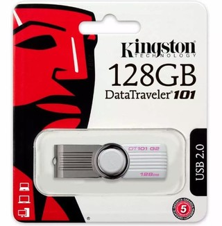 Pendrive Kingston 128gb 101 G2 Dt101g2 Datatraveler Original