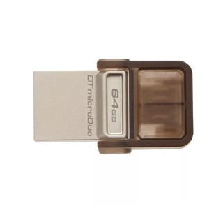 Pendrive Kingston 64gb Datatraveler Microduo Otg Micro Usb