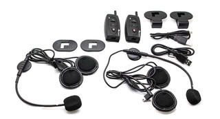 Intercomunicador Bluetooth Kit Mano Libres Stereo Casco Moto en internet