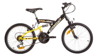 Bicicleta Mountain Bike Rodado 20 Suspension Halley 16335 - comprar online