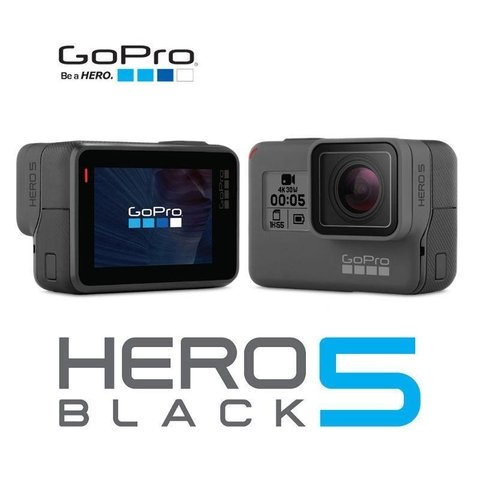 Cámara Go Pro Hero 5 Black Edition 4k Wifi Full Hd 12mpx