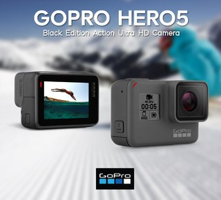 Cámara Go Pro Hero 5 Black Edition 4k Wifi Full Hd 12mpx - tienda online