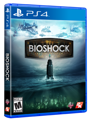 Bioshock The Collection Ps4 Original Nuevo Disco Físico