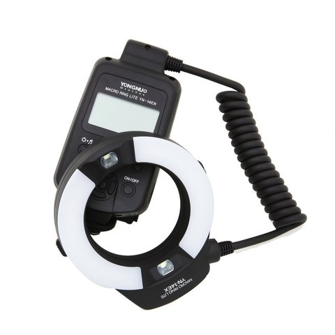 Flash Yongnuo Yn14ex Canon Macro Anillo Ttl Led Lcd
