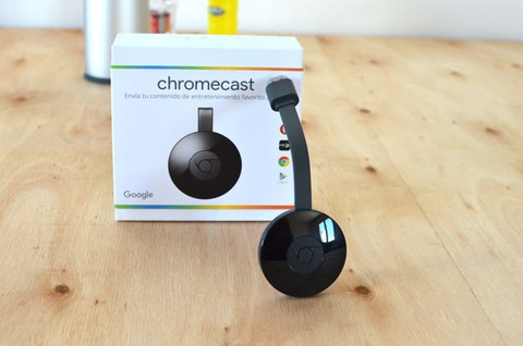 Google Chromecast Hdmi Streaming Media Player Lcd Nuevos!! - comprar online