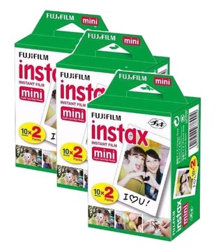Film Rollo Pack 60 Fotos Instax Mini 8 Fujifilm Fuji Gtia